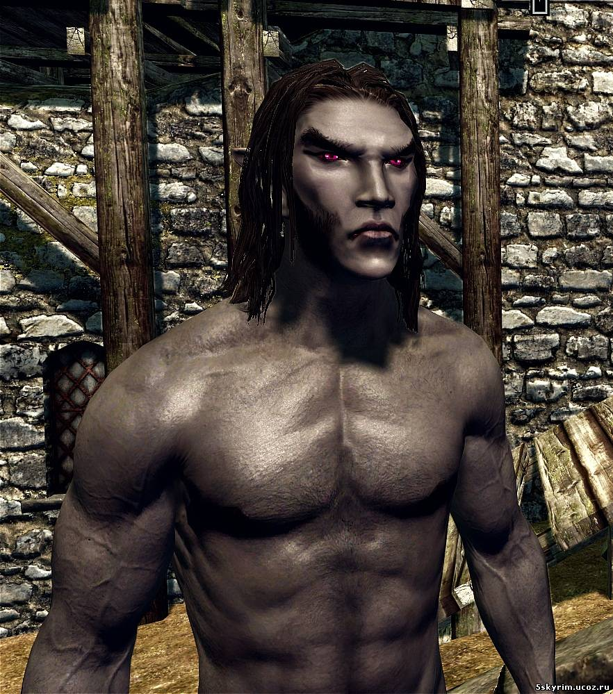 "Нуд мод для Skyrim ""Better males - Beautiful nudes and faces"""