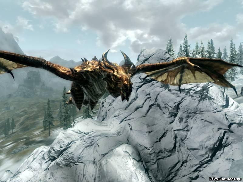 скачать мод в скайрим превращение в дракона бесплатно - фото 4