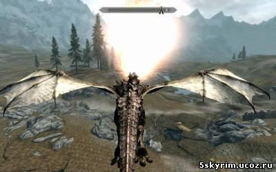 моды на скайрим драконы скачать