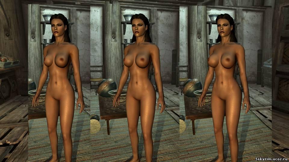 скачать моды на скайрим на голые тела