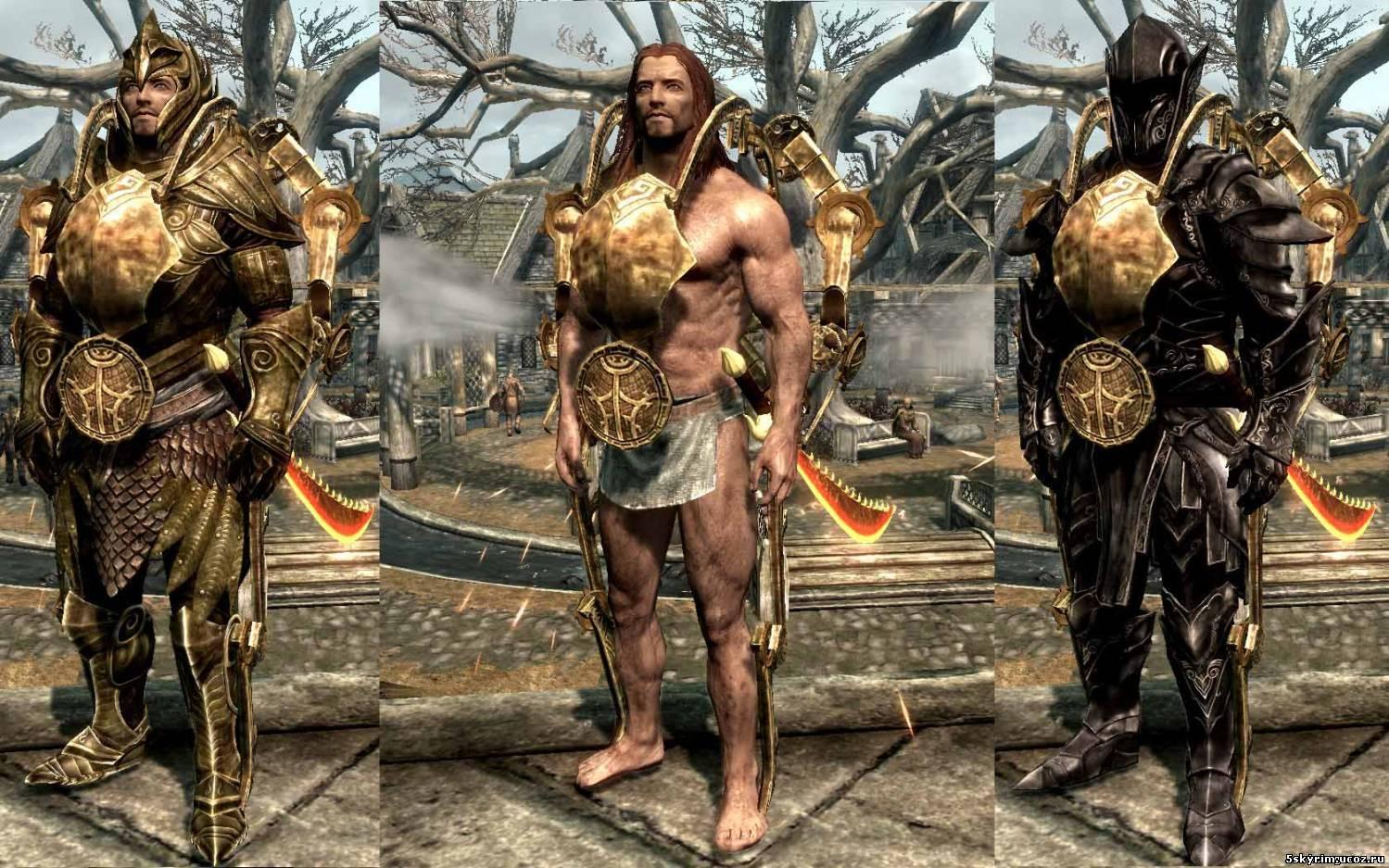 The elder scrolls v: skyrim сексуальная броня мод