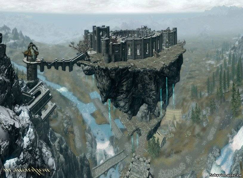 Скайрим Мод Небесный Замок Скачать - фото 2
