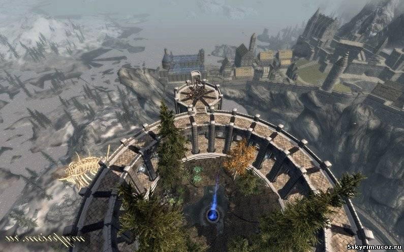Скайрим Мод Небесный Замок Скачать - фото 11