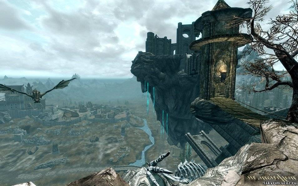 Скайрим Мод Небесный Замок Скачать - фото 9