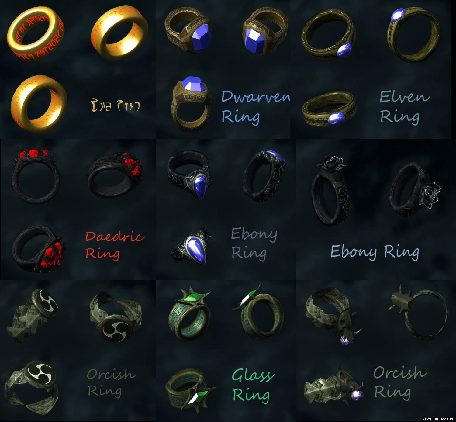 Крафт новых украшений: Expanded Jewelry Crafting
