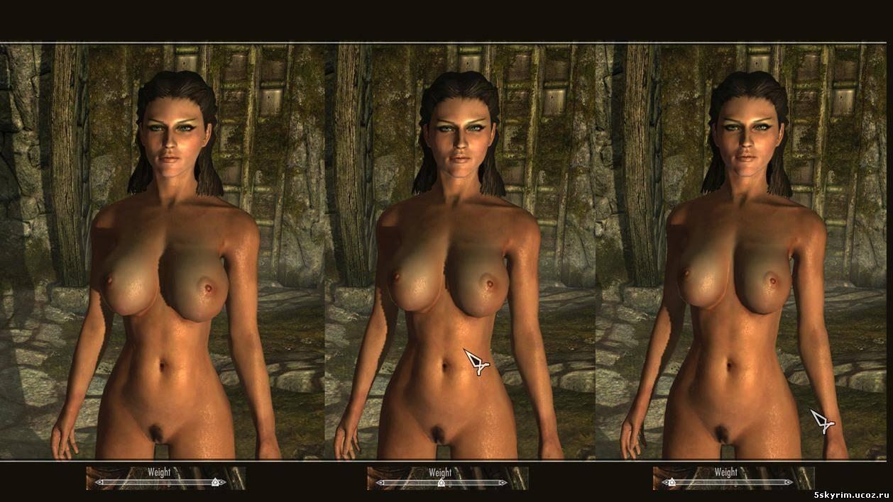 голые девушки из skyrim