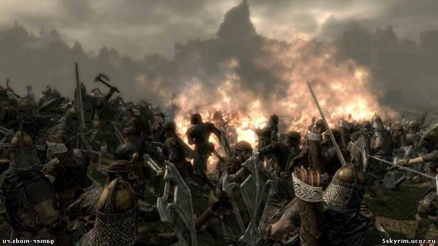 Скачать моды на скайрим на броню войны