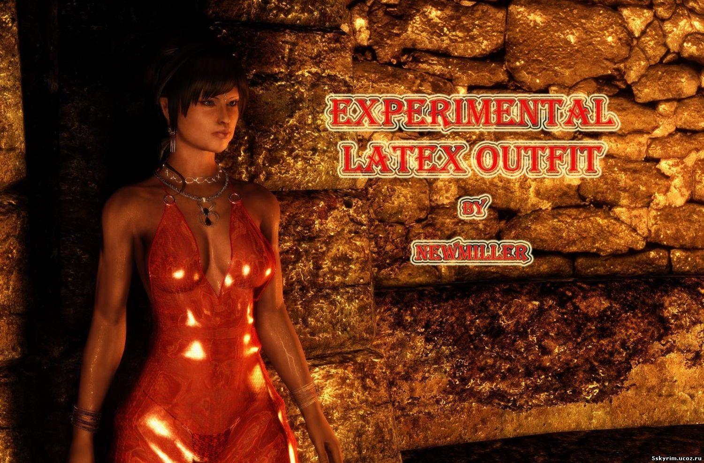 Латексная одежда и белье (UNP\CBBE): Experimental latex outfit