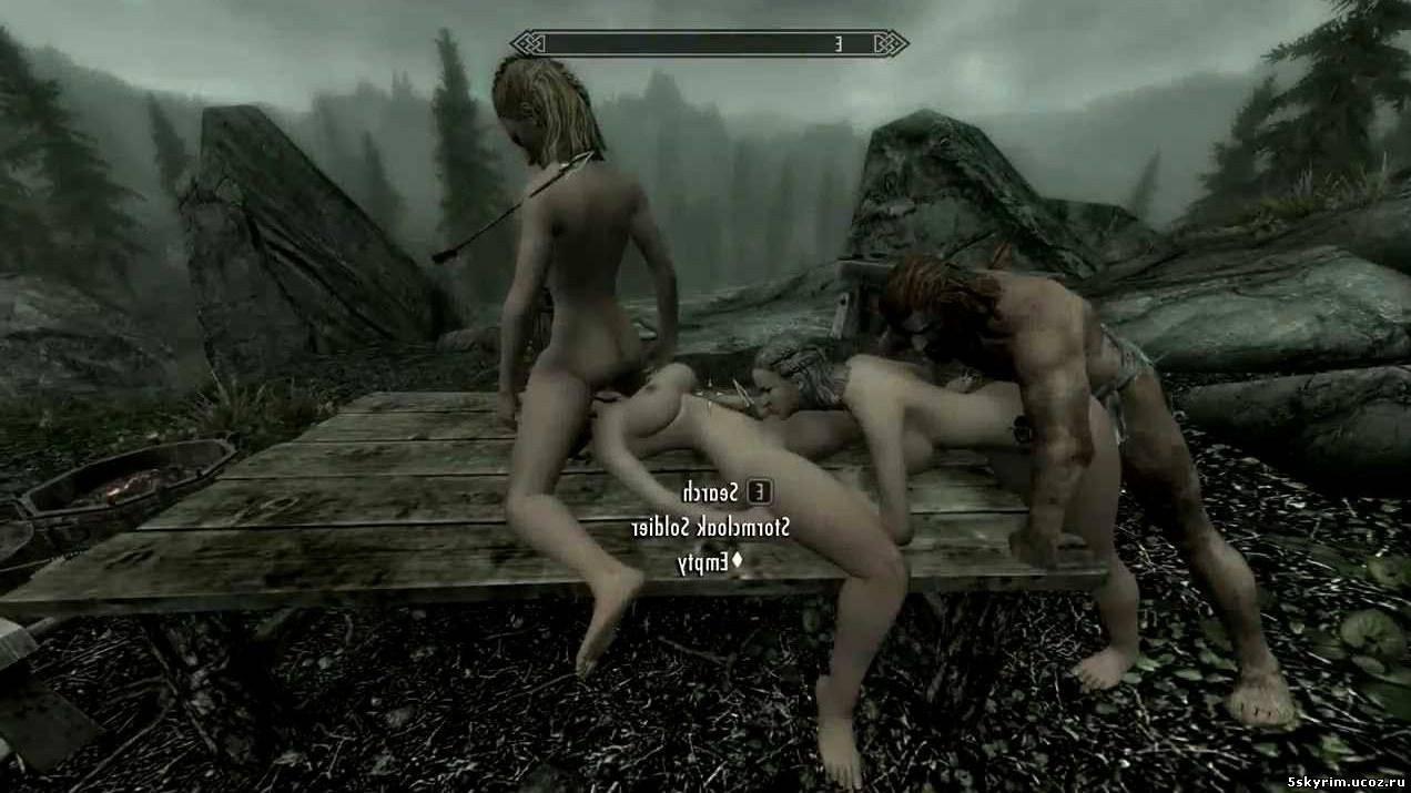 Нуд патч и патч для занятия сексом в скайриме