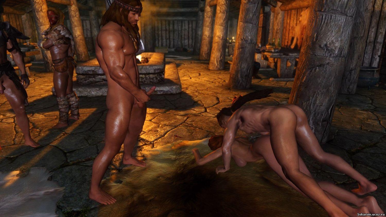 Мод на skyrim занятие сексом