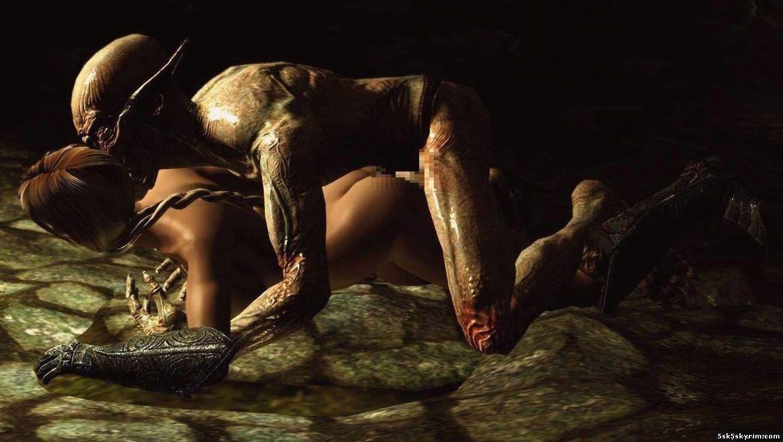 Моды skyrim секс с существами