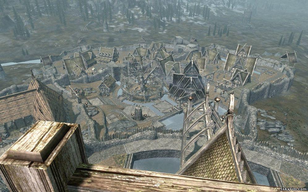 Открытые города: Open Cities Skyrim
