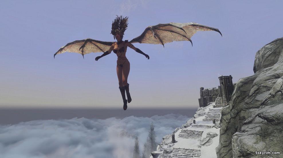 Мод позволяющий летать (самая продвинутая версия)